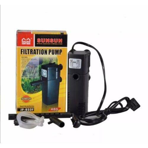 Tudo sobre 'Filtro Interno com Chafariz Sunsun JP-033F 600L/H'