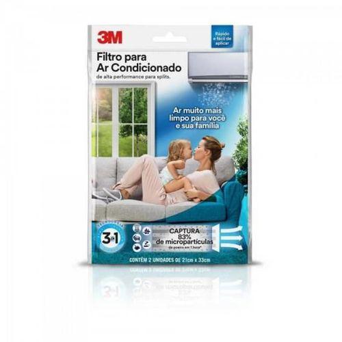 Filtro P/ Ar Condicionado Split Branco 3m