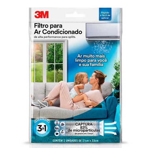 Filtro para Ar Condicionado 3m 2 Unidades