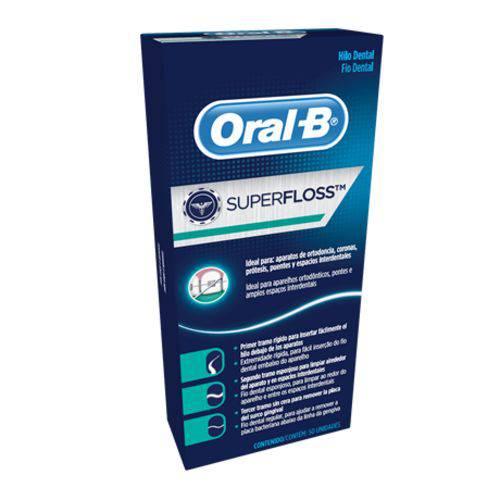 Tudo sobre 'Fio Dental Super Floss'