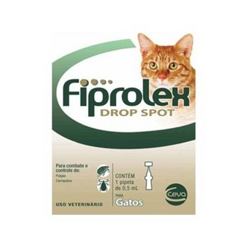 Tudo sobre 'Fiprolex Gatos - Kit 3 Unidades'