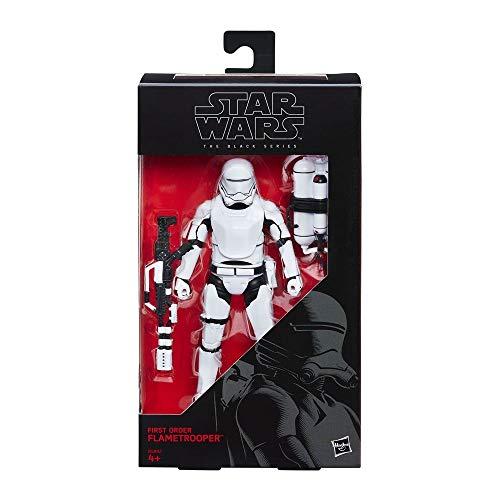 First Order Flametrooper Star Wars The Black Series - Hasbro