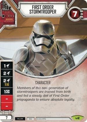 First Order Stormtrooper / Stormtrooper da Primeira Ordem