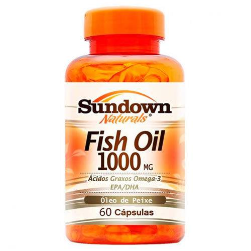 Tudo sobre 'Fish Oil - Óleo de Peixe - 60 Cápsulas - Sundown'