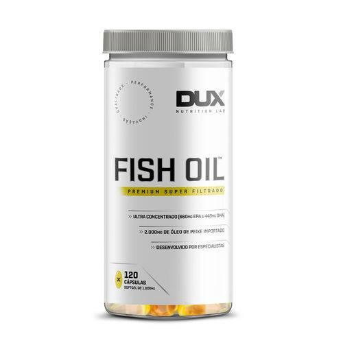 Tudo sobre 'Fish Oil - Pote 120 Cápsulas - Dux Nutrition'