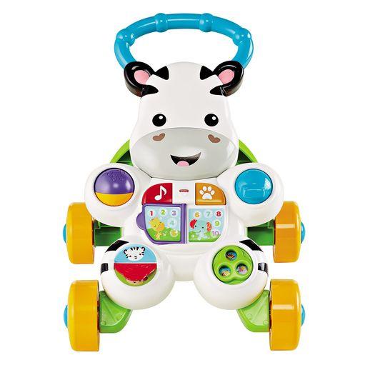 Tudo sobre 'Fisher Price Apoiador Zebra - Mattel'