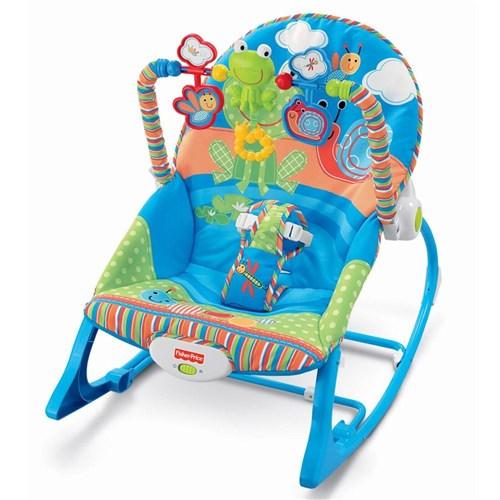 Tudo sobre 'Fisher Price Cadeira Cresce Comigo Sapinho - Mattel'