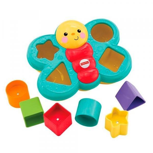 Tudo sobre 'Fisher Price Encaixa Borboleta - Mattel'