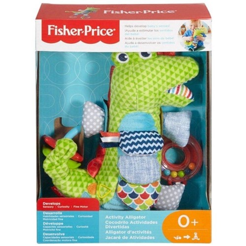 Fisher Price - Jacaré de Atividades - Mattel Fdc57