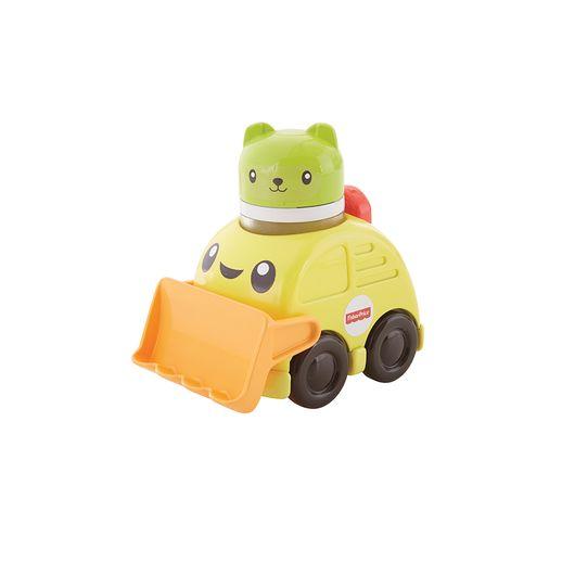 Fisher Price Veículos de Animaizinhos Escavadeira - Mattel