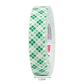 Fita Adesiva Fixa Forte 3M Scotch - 12 Mm X 1,5 M