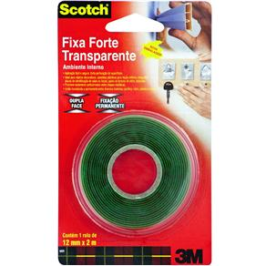 Fita Adesiva 3M Scotch® Fixa Forte H0002223891 - 12mm X 2m