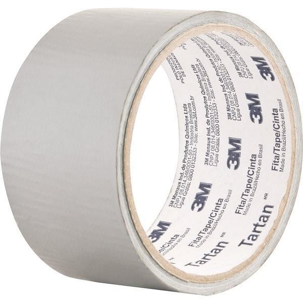 Fita Adesiva 3M Scotch Silver Tape - 45 Mm X 5 M