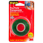Fita Adesiva Scotch Fixa Forte 19mm X 2m Transparente