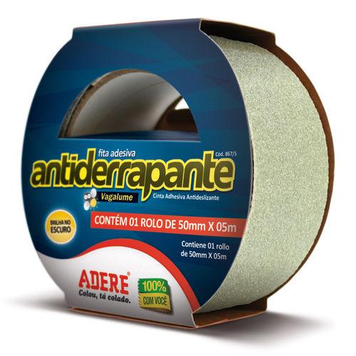 Fita Antiderrapante Fluorescente 50 X 5m - Adere