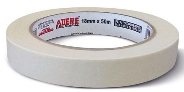 Fita Crepe Adere 18mm X 50m