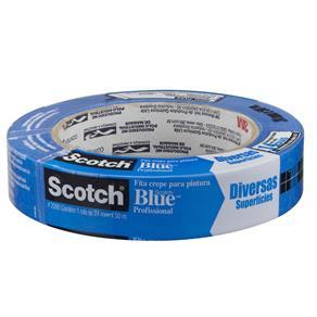 Fita Crepe Azul 24Mm X 50Mt 3M