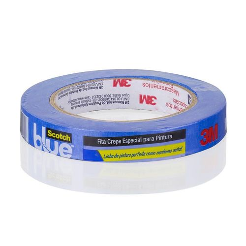 Fita Crepe Blue Tape 18mm X 50m 3m Scotch 26035