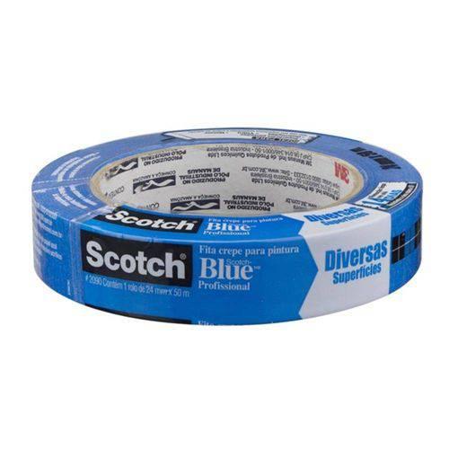 Fita Crepe Blue Tape 24mm X 50mm