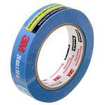 Fita Crepe Scotch Blue Tape 24mm X 50m - 3m