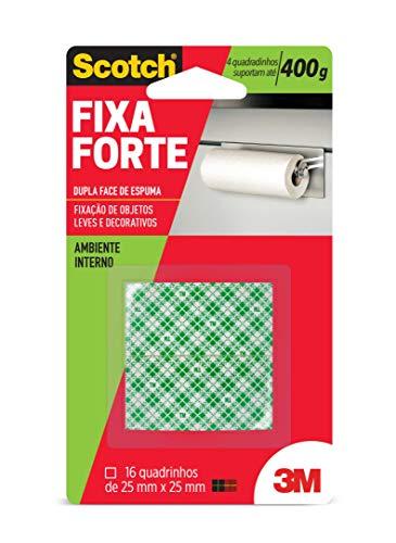 Fita Dupla Face Fixa Forte Espuma, Scotch H0002320036