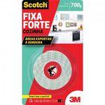 Fita Dupla Face Fixa Forte Scotch Cozinha 24mm X 1,5m 3m