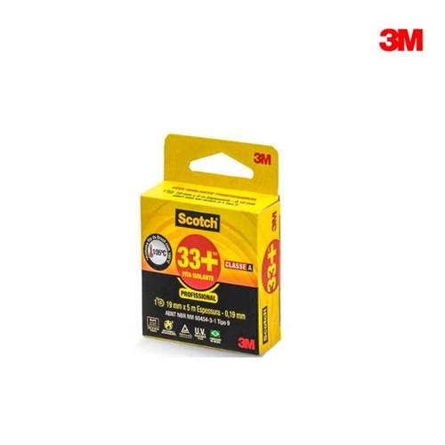 Fita Isolante 19mmx05m Profissional Scotch 33+ Hb004162127 3m