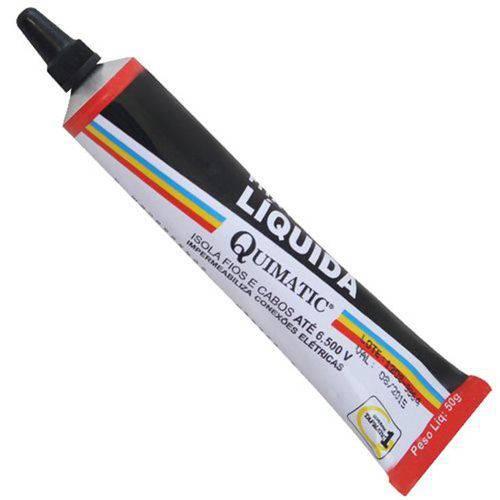 Fita Isolante Liquida 50gr - Preta-bp 1