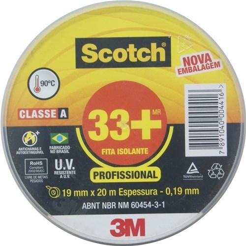 Fita Isolante 3M Scotch 33+ 20M