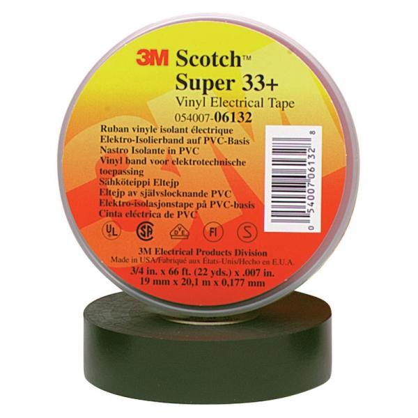 Fita Isolante 33+ Scotch 20 Metros 3M