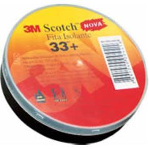 Fita Isolante Scotch 33+ 19mm X 20 M - 3M