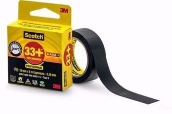 Fita Isolante Scotch 33+ 19mm X 5m Profissional Classea - 3M