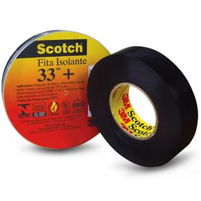 Fita Isolante Scotch 33+ 5M 3M