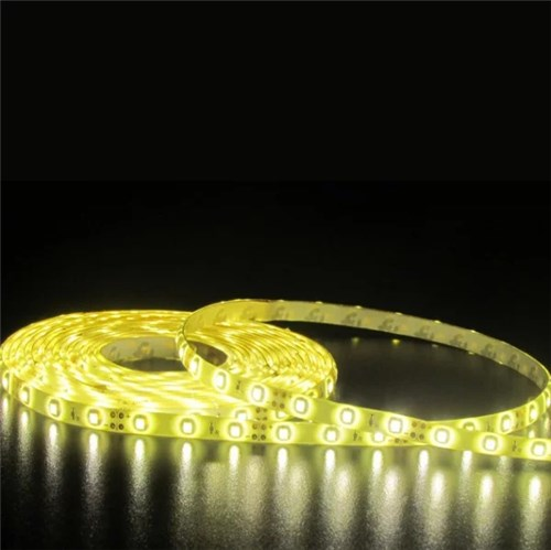 Fita LED Luz Amarela 2m IP 20 Luminatti 12V