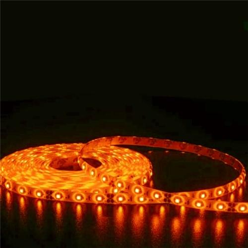 Fita LED Luz Âmbar 5m IP 20 Luminatti 12V