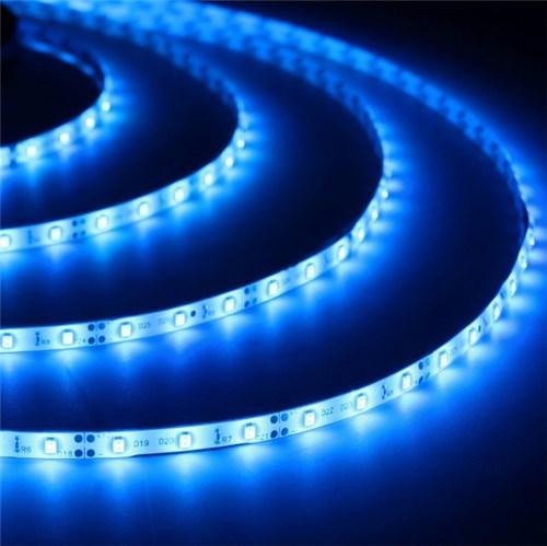 Fita LED Luz Azul 5m IP 20 Luminatti 12V
