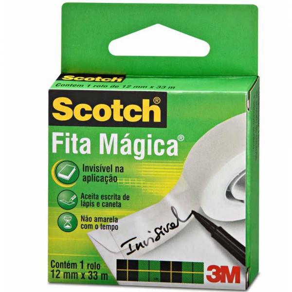 Fita Magica 12x33 Scotch 810 / Un / 3m