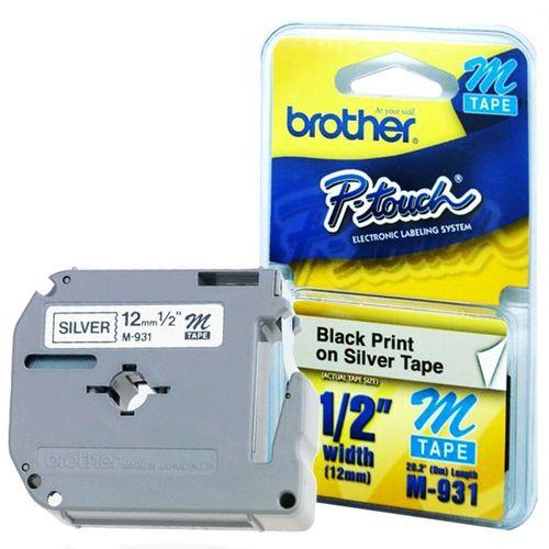 Fita Rotuladora Brother 12MMX8M M931