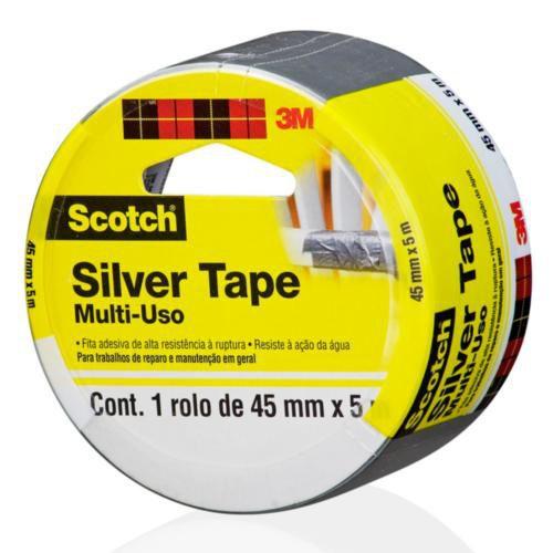 Fita Silver Tape Scotch 45mmx5m 3m