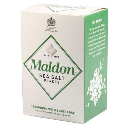 Tudo sobre 'Flocos de Sal Marinho Maldon - 250G'