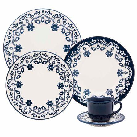 Floreal Energy Aparelho de Jantar e Chá 20 Peças