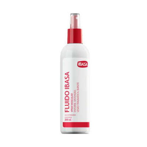 Fluído Ibasa Spray Muscular - 200 Ml