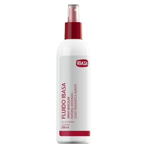 Fluído Ibasa Spray Muscular 200ml