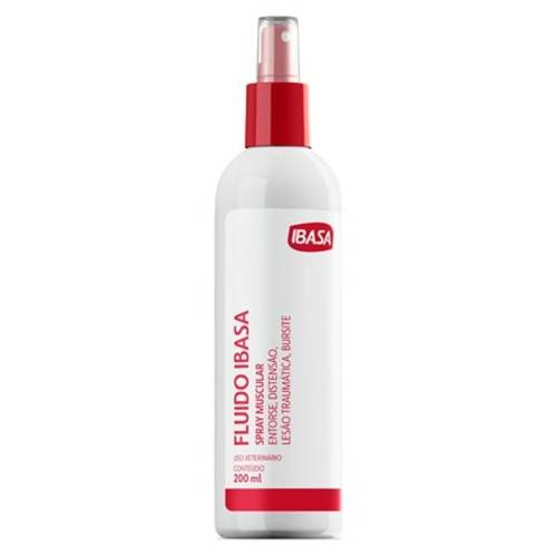 Fluido Spray Muscular Ibasa - 200 Ml