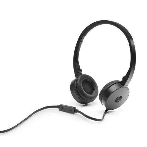 Tudo sobre 'Fone de Ouvido - 3,5mm - C/ Microfone HP H2800 - Preto'