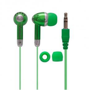 Fone de Ouvido Attitudz com Fio Verde CV-E53 Coby