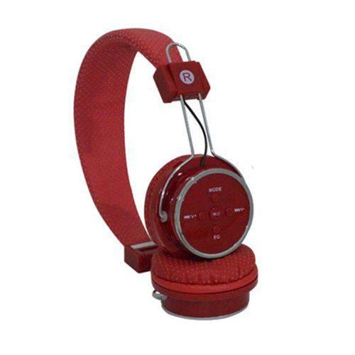 Tudo sobre 'Fone de Ouvido Bluetooth B-05 Vermelho'