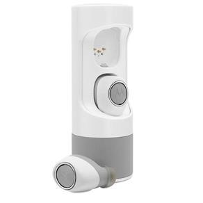 Fone de Ouvido Bluetooth Motorola Verveones Sh010 - Cinza/Branco