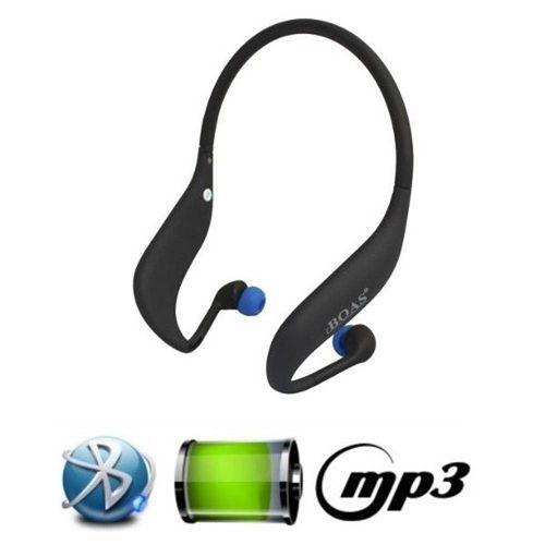 Fone de Ouvido Bluetooth Sem Fio Stereo Boas Lc-702s - Preto C