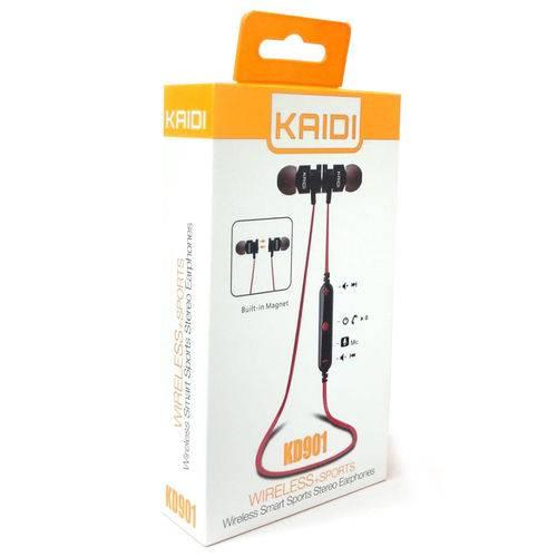 Fone de Ouvido Bluetooth Sportivo para Corrida Sem Fio - Kd-901